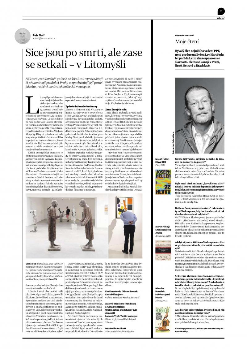 ruská avantgarda v tištěných periodikách