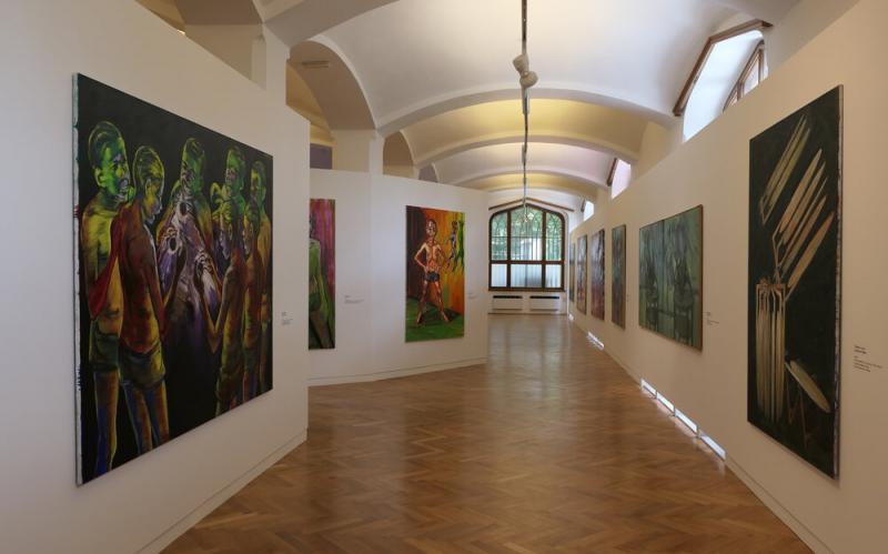 Lubomír Typlt vystavuje na Hluboké