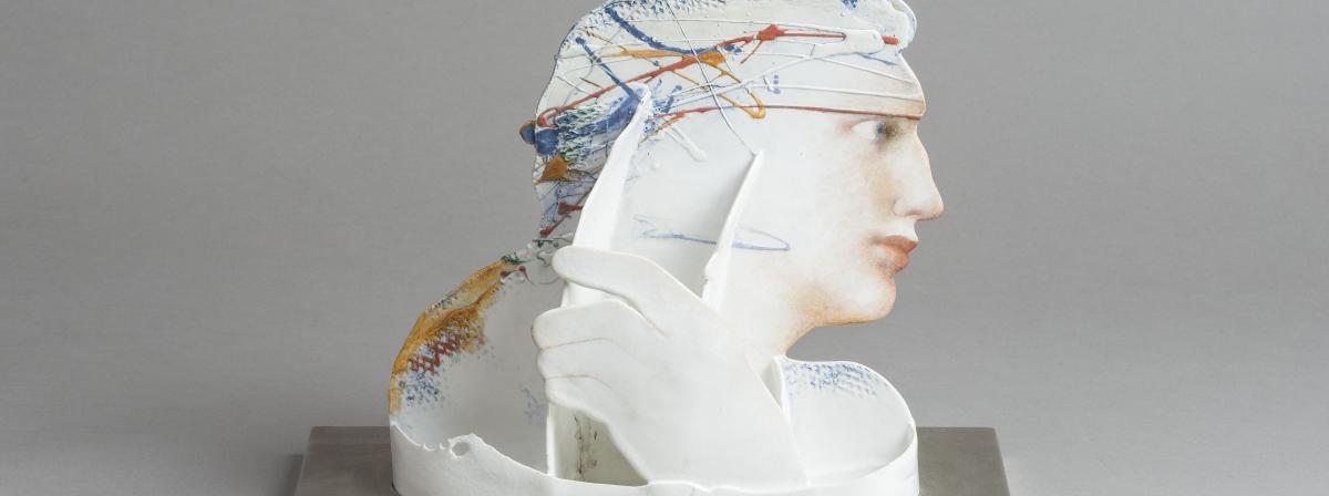 jindra viková | hliněná žena
